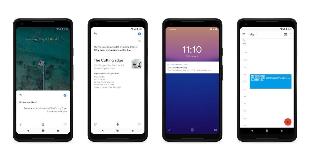 Google Assistant en Google Duplex