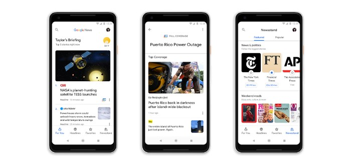 Nieuwe Google Nieuws app nu beschikbaar in Google Play Store