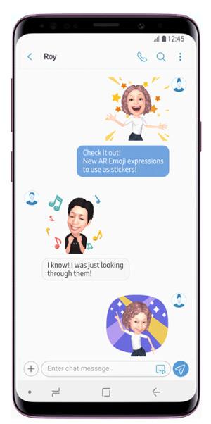 nieuwe ar emoji stickers