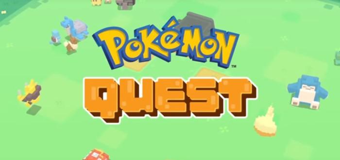 Pokémon Quest game vanaf nu beschikbaar in Google Play Store