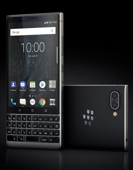 BlackBerry KEY2 Silver