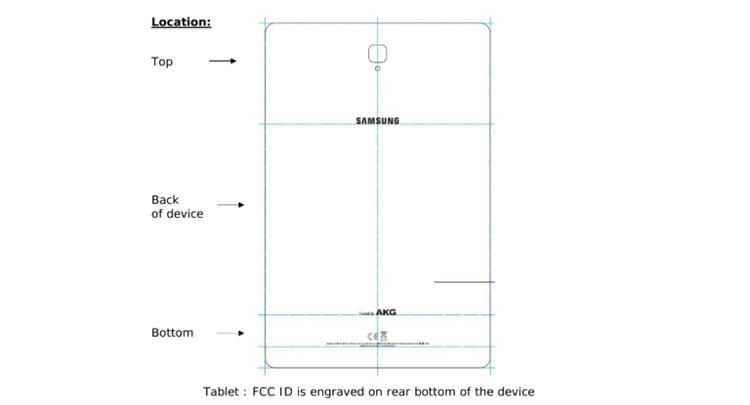 Galaxy Tab S4 FCC