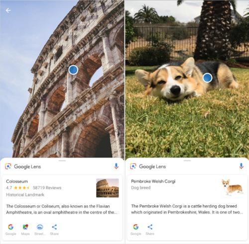 Google Lens Xperia XZ2