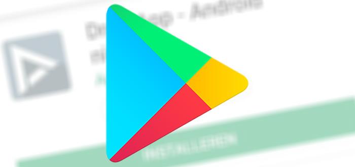 Nieuwe, minimalistische interface voor Google Play Store rolt uit in Nederland