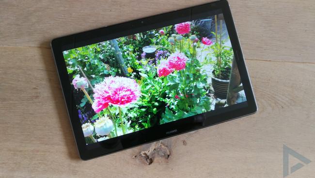 Huawei MediaPad M5 beeldscherm