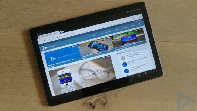 Huawei MediaPad M5 internet