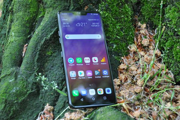 LG G7 ThinQ voorkant