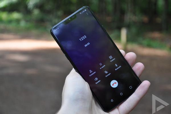 LG G7 ThinQ dialer