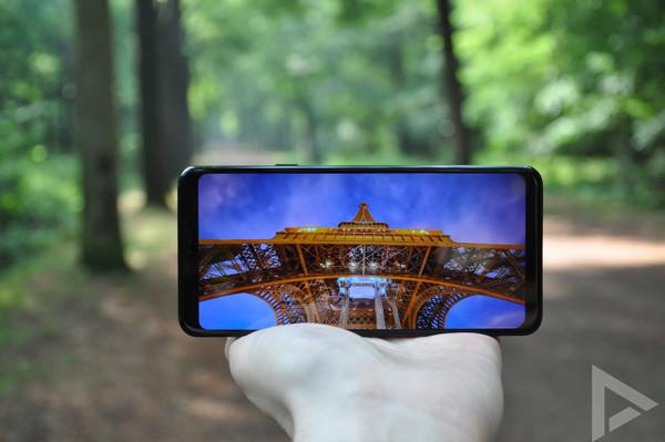 LG G7 ThinQ beeldscherm