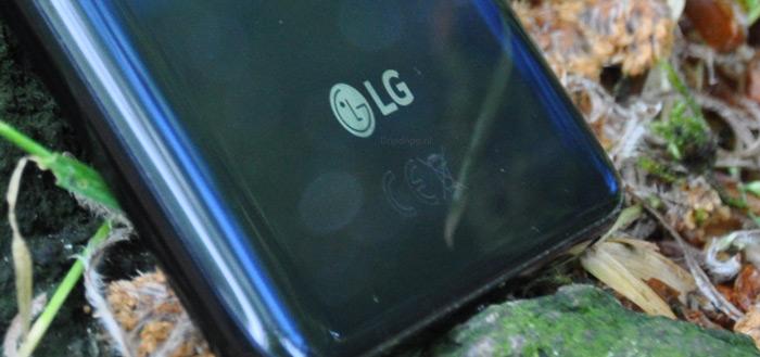 Komt LG met een nieuwe smartphone met tweede scherm in hoesje?
