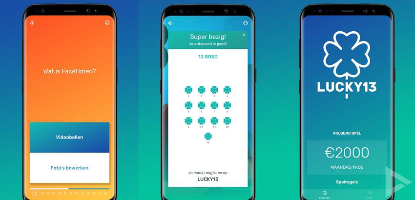Lucky13 app