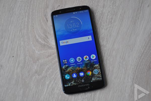 Moto G6 Android 9 Pie