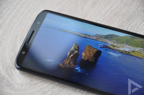 Moto G6 beeldscherm