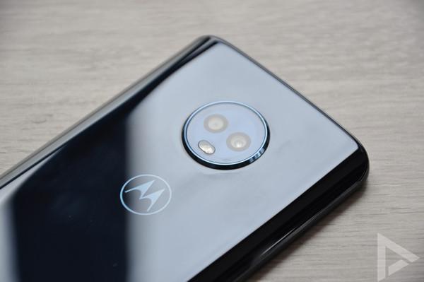 Moto G6 dual-camera