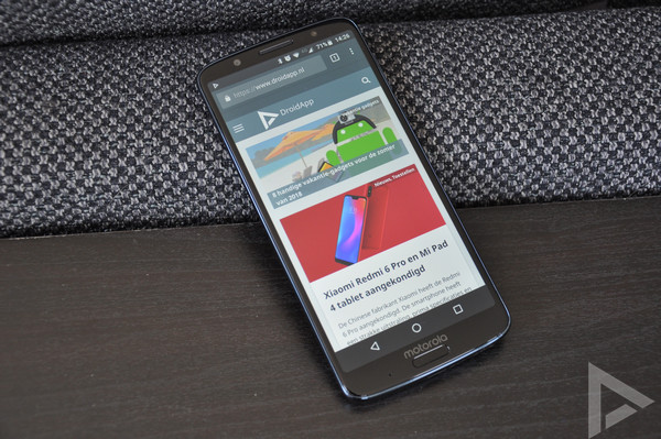 Moto G6 Plus beveiligingsupdate september 2018