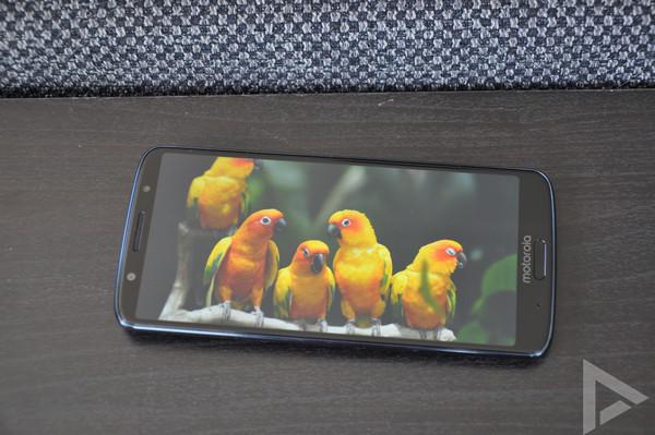 Moto G6 Plus scherm