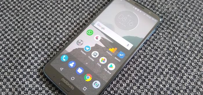 Moto G6 Plus krijgt beveiligingsupdate november 2019
