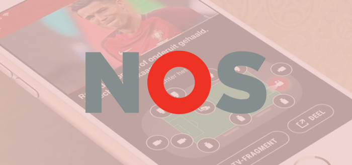 NOS app uitgebreid met WK 2018-sectie: live kijken en 360-graden content