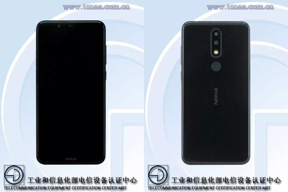 Nokia 5.1 Plus TENAA