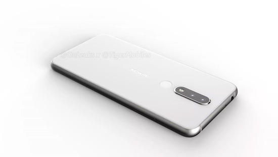 Nokia 5.1 Plus render