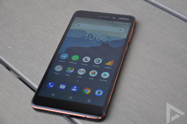 Nokia 6.1 (2018) Android Pie