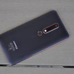 Nokia 6.1 achterkant