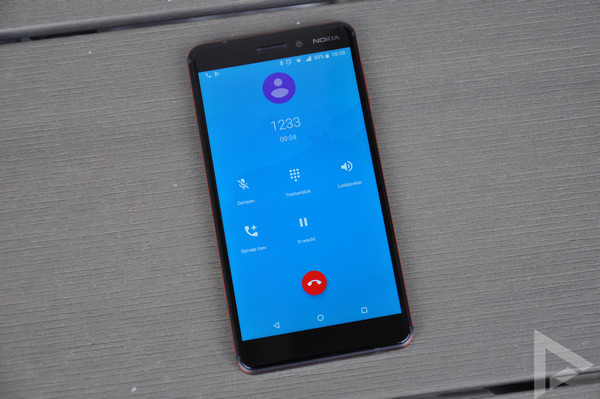 Nokia 6.1 bellen