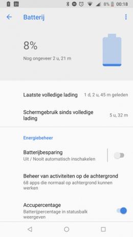 Nokia 6.1 accu