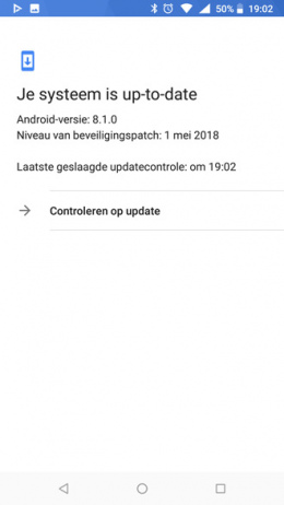 nokia update controleren
