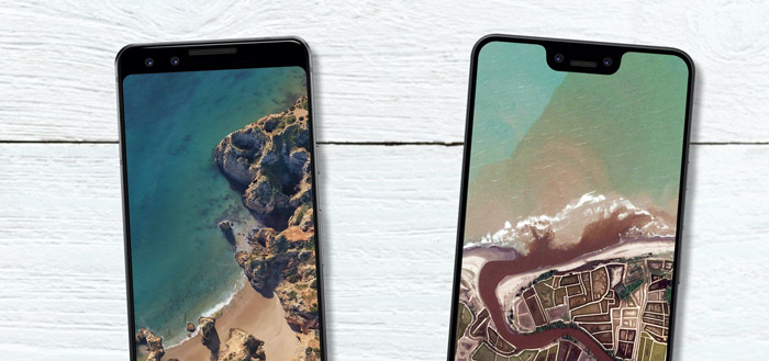 Nieuwe Pixel 3 wallpapers, ook voor Always On Display, nu te downloaden