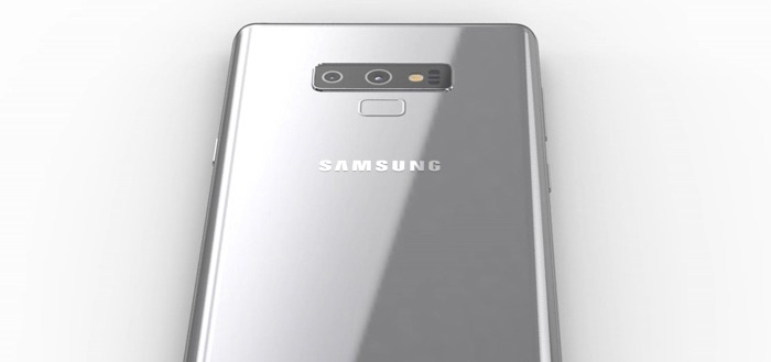 Eerste beelden Samsung Galaxy Note 9 opgedoken: dit zijn de renders
