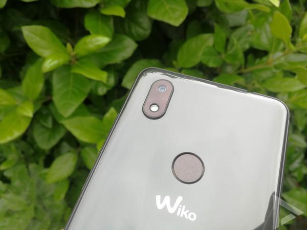 Wiko View 2 vingerafdrukscanner