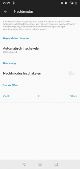 OnePlus 6 nachtmodus