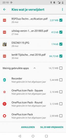 OnePlus 6 opruimen