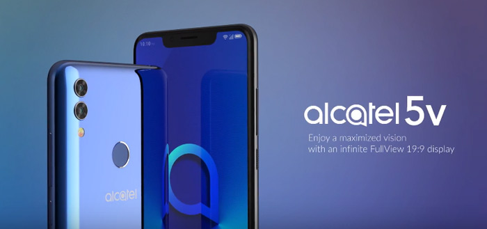 Alcatel presenteert nieuw flagship: Alcatel 5V met notch en dual-camera