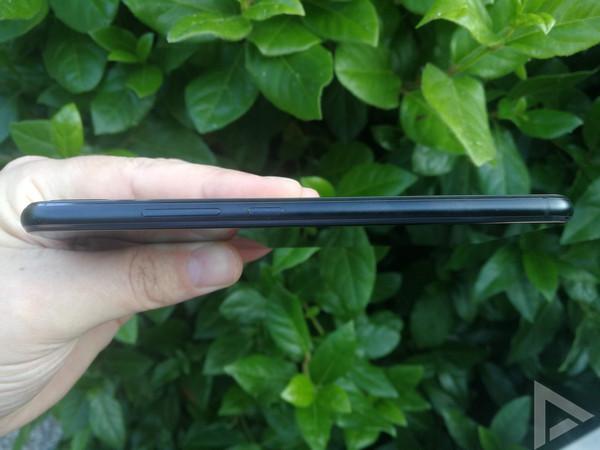 Asus ZenFone 5 toetsen