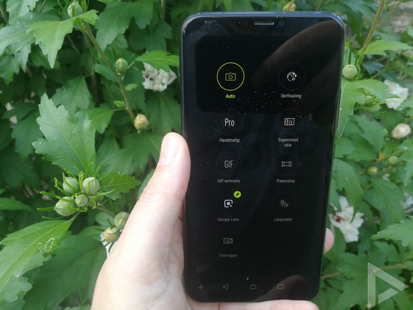 Asus ZenFone 5 camera handmatig
