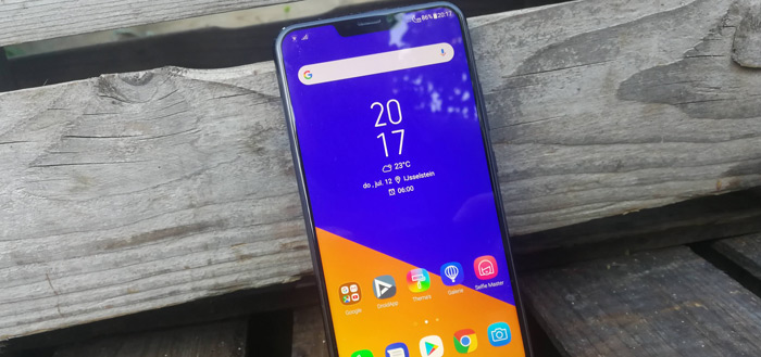 Asus levert Android 9 Pie update begin 2019 af voor ZenFone 5-serie