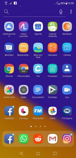 Asus ZenFone 5 menu