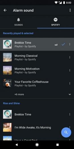 Google Klok Spotify