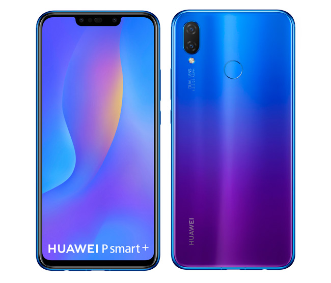 Huawei P Smart+ iris purple