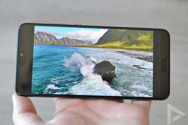 Huawei P20 Pro beeldscherm