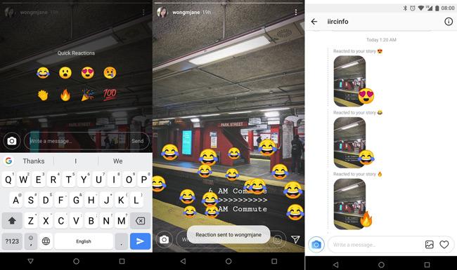 Instagram Stories emoji
