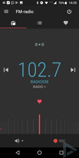 Moto G6 FM-radio
