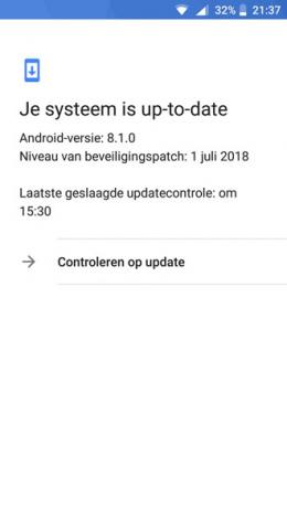 Nokia 5 6 2017 beveiligingsupdate juli 2018