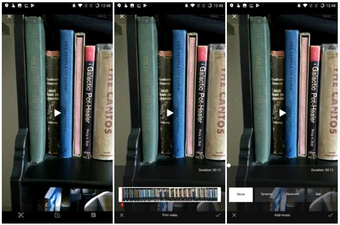 OnePlus Gallery videobewerker
