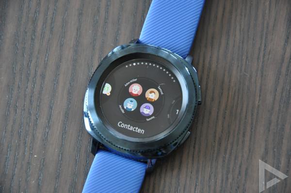 Samsung Gear Sport widgets