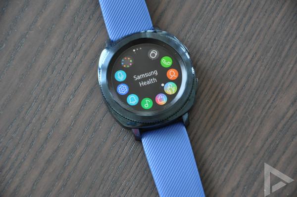 Samsung Gear Sport menu
