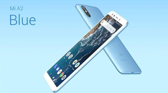 Xiaomi Mi A2 blauw