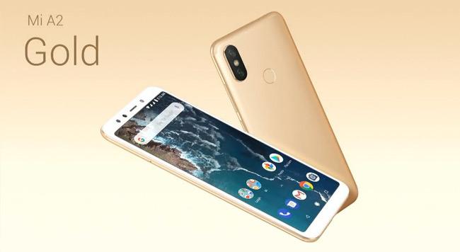 Xiaomi Mi A2 goud
